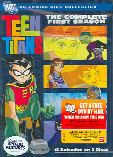 TEEN TITANS:COMPLETE FIRST SEASON BY TEEN TITANS (DVD)