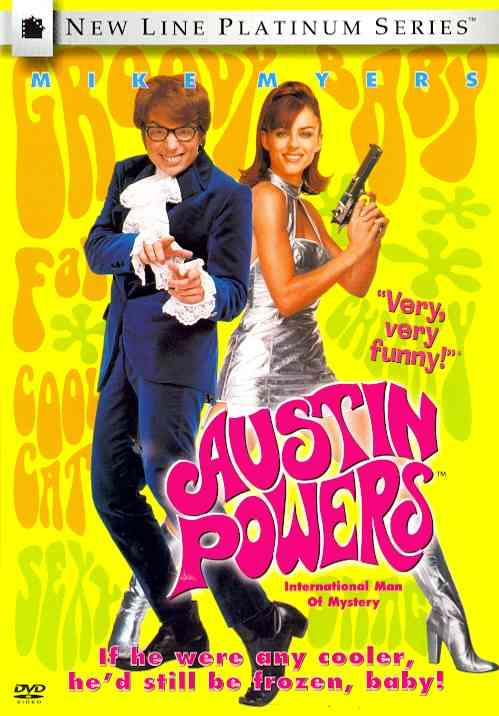 AUSTIN POWERS:INTERNATIONAL MAN OF MY BY MYERS,MIKE (DVD)